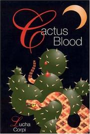 Cover of: Cactus blood: a mystery novel