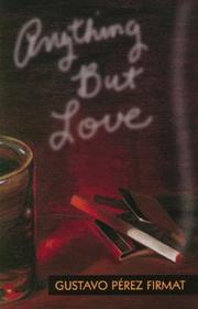 Cover of: Anything but love