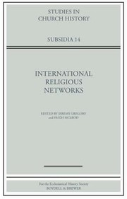 Cover of: International Religious Networks