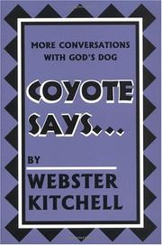 Cover of: Coyote says--