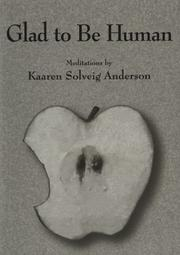 Cover of: Glad to Be Human