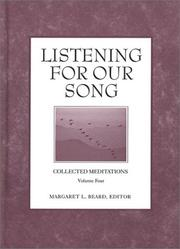 Cover of: Listening for Our Song