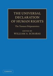 Cover of: Universal Declaration of Human Rights 3 Volume Hardback Set