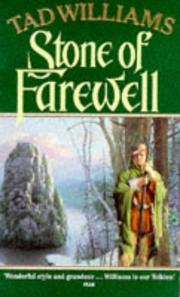 Cover of: Stone of Farewell: Book 2 of Memory Sorrow and Thorn