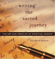 Cover of: Writing the Sacred Journey | Elizabeth J. Andrew