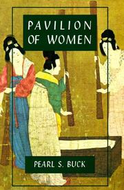 Cover of: Pavilion of women | Pearl S. Buck