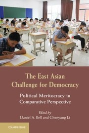 Cover of: The East Asian Challenge for Democracy