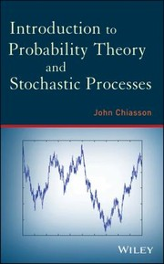 Cover of: Introduction To Probability Theory And Stochastic Processes