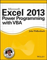 Cover of: Excel 2013 Power Programming With Vba