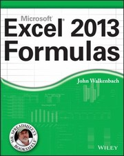 Cover of: Excel 2013 Formulas