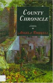 Cover of: County chronicle: a novel
