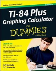 Cover of: Ti84 Plus Graphing Calculator For Dummies
