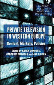 Cover of: Private Television in Western Europe