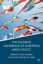 Cover of: Palgrave Handbook Of European Media Policy