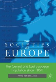 Cover of: The Central And East European Population Since 1850