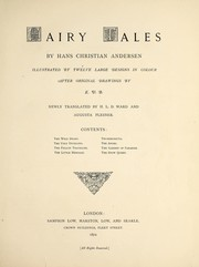 Cover of: Fairy tales | Hans Christian Andersen