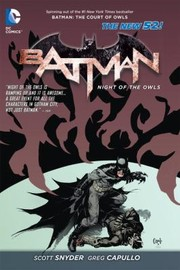 Cover of: Batman Night Of The Owls