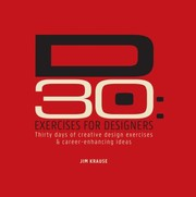 Cover of: D30 Exercises for Designers