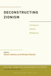 Cover of: PT CP DECONSTRUCTING ZIONISM PT CP