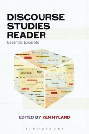 Cover of: Discourse Studies Reader Essential Excerpts