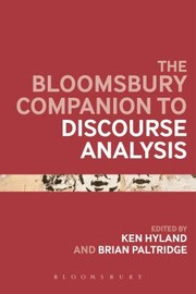 Cover of: Bloomsbury Companion To Discourse Analysis