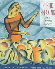 Cover of: Public speaking in a diverse society