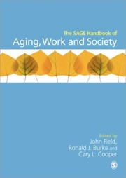 Cover of: The Sage Handbook Of Aging Work And Society