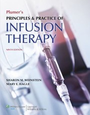 Cover of: Plumers Principles Practice Of Infusion Therapy