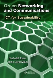 Cover of: Green Networking and Communications