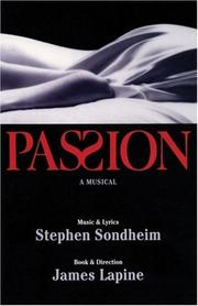 Cover of: Passion: A Musical