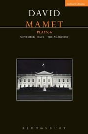 Cover of: Mamet Plays November