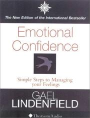 Cover of: Emotional Confidence | Gael Lindenfield