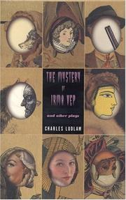 Cover of: The mystery of Irma Vep and other plays