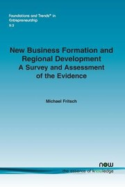 Cover of: New Business Formation and Regional Development