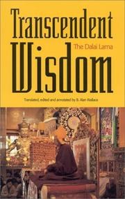 Cover of: Transcendent wisdom: a commentary on the ninth chapter of Shantideva's Guide to the Bodhisattva way of life