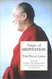 Cover of: Stages of meditation | 14th Dalai Lama