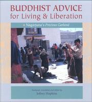 Cover of: Buddhist Advice for Living and Liberation