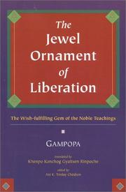 Cover of: The Jewel Ornament of Liberation