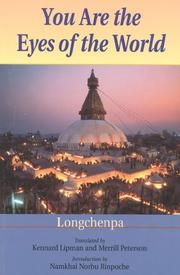 Cover of: You Are the Eyes of the World | Longchenpa