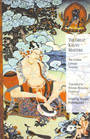 Cover of: The Great Kagyu Masters