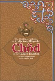 Cover of: Chod in the Ganden Tradition