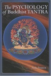 Cover of: The Psychology of Buddhist Tantra