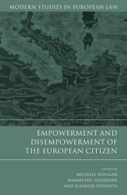Cover of: Empowerment And Disempowerment Of The European Citizen