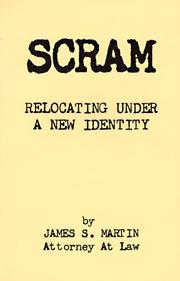 Cover of: Scram | James S. Martin