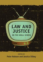 Cover of: Law And Justice On The Small Screen