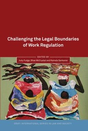 Cover of: Challenging The Legal Boundaries Of Work Regulation