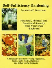 Cover of: Self-sufficiency gardening