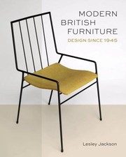 Cover of: Modern British Furniture Design Since 1945
