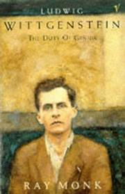 Cover of: Ludwig Wittgenstein | Ray Monk