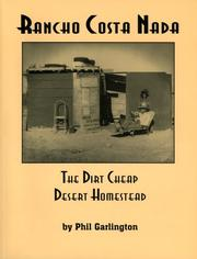 Cover of: Rancho Costa Nada